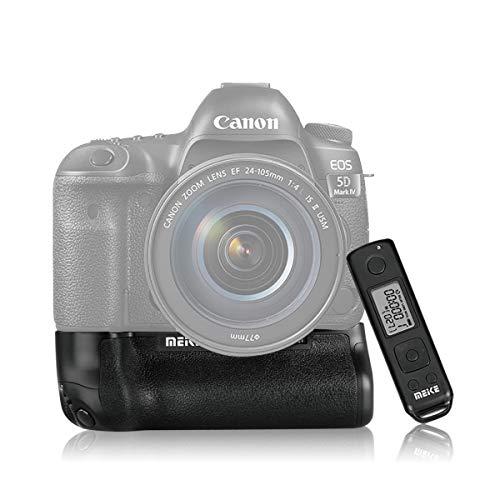 MEIKE Batteriegriff MK-5D4 Pro Kabellose Fernbedienung Doppelkamera-Batterie-Lebensdauer für Canon 5DMark IV