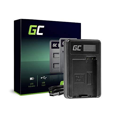 Green Cell® LC-E8 - Cargador para baterías Canon LP-E8 y EOS Rebel T2i T3i T4i T5i EOS 600D 550D 650D 700D Kiss X4 X5 X6 (2,5 W, 4,8 V, 0,6 A), color negro