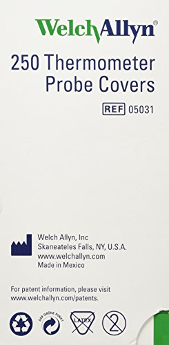 Welch Allyn Probe Covers for SureTemp 690 and 692 Thermometers 250/Box