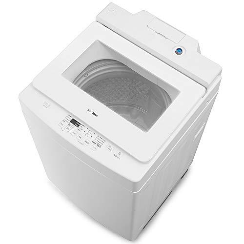 アイリスオーヤマ 洗濯機 10kg 全自動洗濯機 自動洗剤投入 幅58.6cm ホワイト IAW-T1001