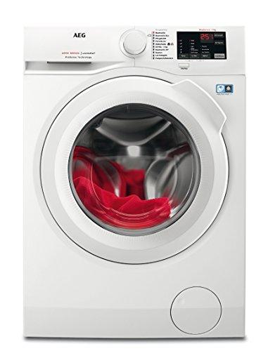 AEG L6FB50470 / Waschmaschine / 7,0 kg / Waschvollautomat mit Mengenautomatik, Nachlegefunktion,...