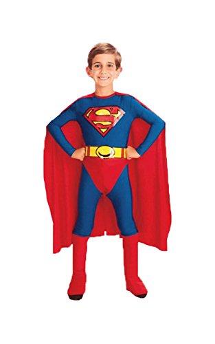 Disfraz de Superman para niños 4 piezas - disfraces infantiles ...