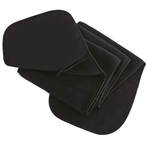Result - Echarpe polaire anti peluche avec poche zippée - Homme (Taille unique) (Noir)