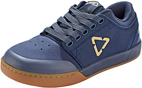 Leatt Unisex Chaussures 2.0 Flat Mountain Biking Shoe, bleu Onyx, 9 UK