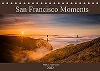 San Francisco Moments (Tischkalender 2022 DIN A5 quer): Eine persoenliche Auswahl von Eindruecken und Momenten festgehalten in 12 Bildern aus der Metropole San Francisco. (Monatskalender, 14 Seiten )