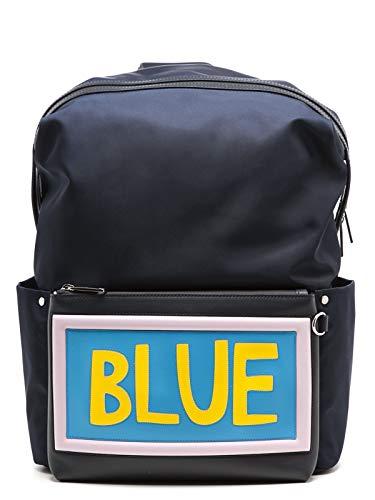 Fendi Luxury Fashion Herren 7VZ0356C2F05JP Blau Rucksack | Jahreszeit Permanent