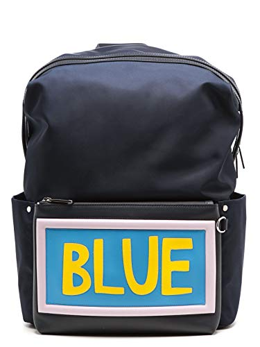 Luxury Fashion | Fendi Heren 7VZ0356C2F05JP Donkerblauw Polyamide Rugzak | Seizoen Permanent