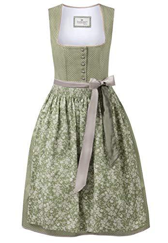 Stockerpoint Damen Dirndl Adele Kleid für besondere Anlässe, Schilf, 42