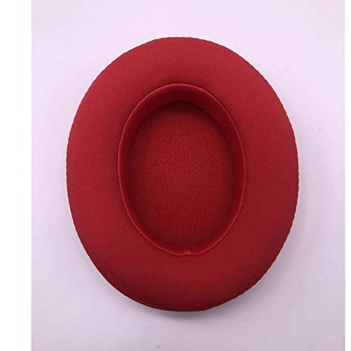 Replacement Foam Ear Pads Cushion For Beats Studio 2 and Studio 3 Over Ear Headphones Memory Foam Ear pads 23 AugT6,Red