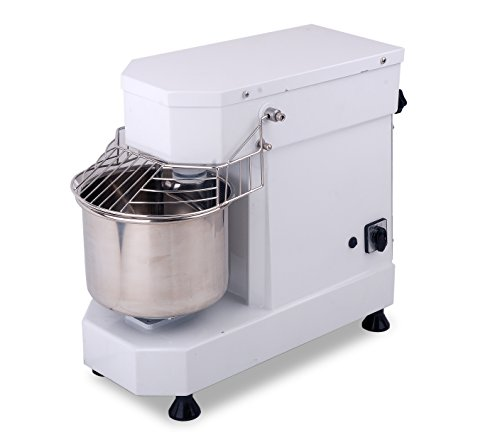 Hakka Commercial Dough Mixers 40 Quart Stainless Steel 2 Speed Rising Spiral Mixers-HTD40B (220V/60Hz,3 Phase)