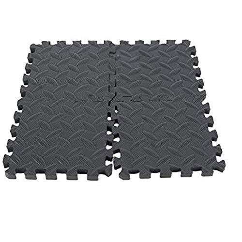 MZQQ Interlocking Foam Floor Mat,Pool mat,EVA Floor Tiles, Non slip Rubber Cushion, Indoor Outdoor Home Fitness (Size : 4pcs)