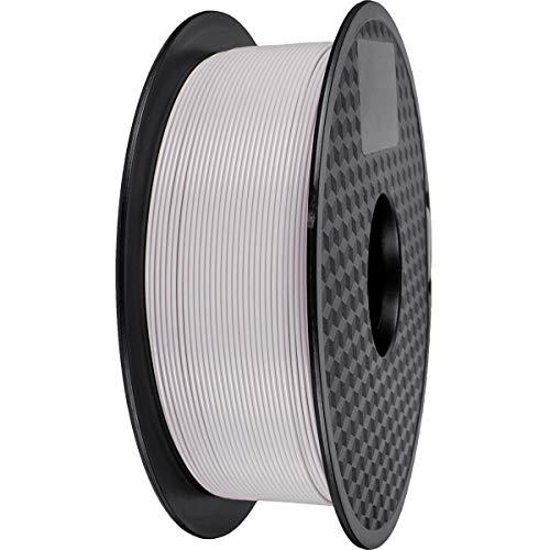Filamento PLA 1,75 mm, GIANTARM Stampante 3D PLA Filamento 1 kg Spool (Grigio)