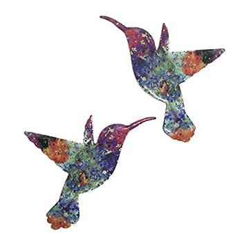 Sonoran Souvenirs Dreamy Opal Hummingbird Magnetic Screen Saver Sliding Door Lanai Screen Door Magnet Patio Heavy Duty Magnet Gloss Finish