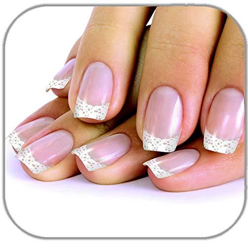24 faux ongles adhésifs\