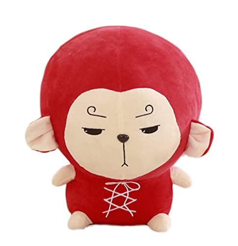 qinhuang Juguete De Peluche Flor Viaje Hwayugi Mono Kawaii Almohada Goku Korean TV A Korean Odyssey Star Cojín Relleno 30Cm