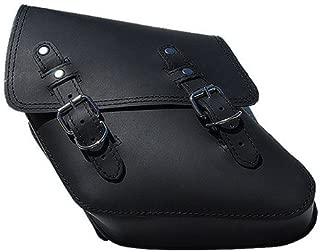 La Rosa Harley-Davidson Dyna Wide Glide FXR Black Leather Left Side Saddle Bag