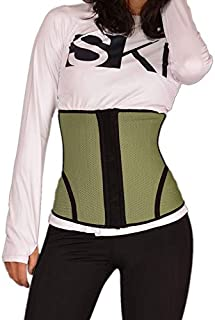 DHINGM Slimming Sports Plastic Belt Fitness Waist Waist Girdle Abdomen Belt Corset Belt Body Corset Belt, Bid Farewell to The Bucket Waist, Skin-Friendly Breathable (Color : Purple, Size : XXL)