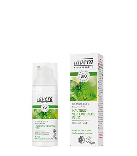 Lavera Bio Hautbildverfeinerndes Fluid Bio-Minze (1 x 50 ml)