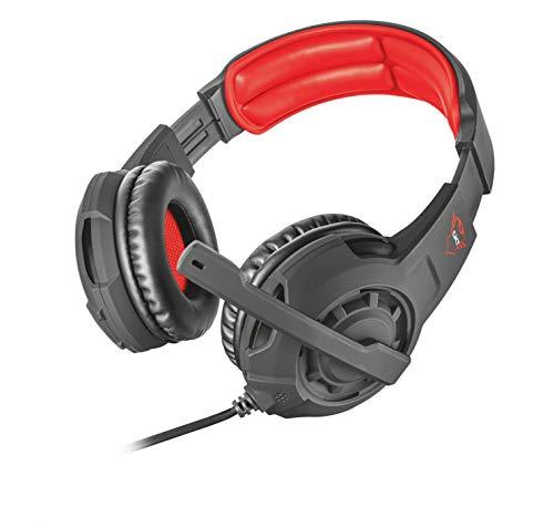 Trust GXT 4310 Jaww Gaming Kopfhörer (mit verstellbarem Mikrofon, für PS4, Xbox One und PC) schwarz