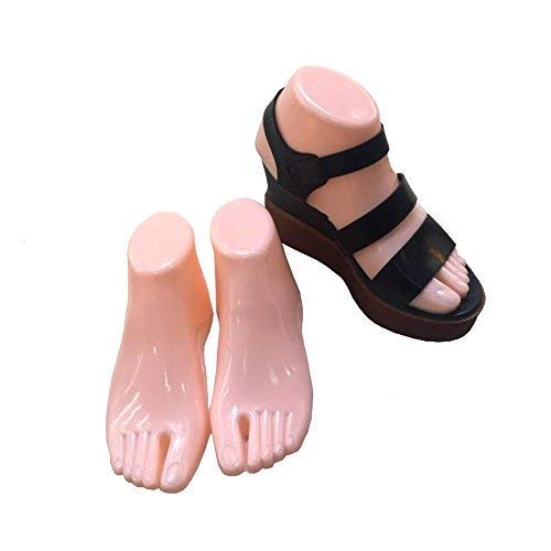 Female Plastic Foot Model Tools for Sandals Display (Fleshtone)