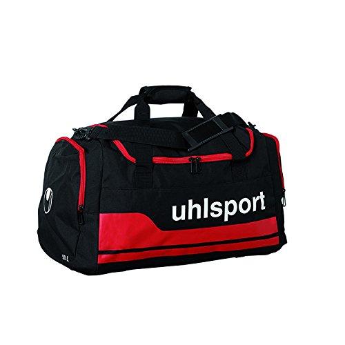 Uhlsport Basic Line Sporttasche Tasche, Schwarz/Rot, M