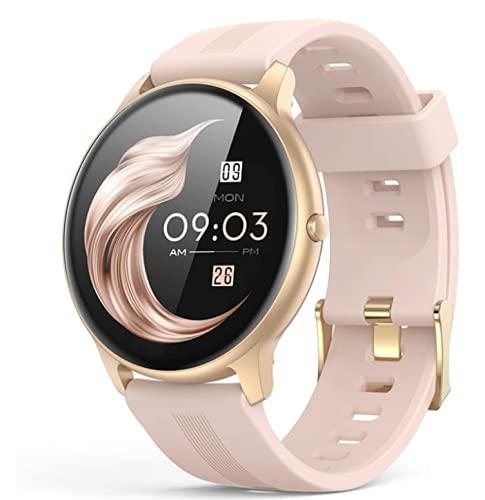 Smartwatch,Reloj Inteligente con Pulsómetro,Cronómetros,Calorías,Monitor de Sueño,Podómetro Monitores de Actividad Impermeable IP68 Smartwatch Hombre Reloj Deportivo para Android iOS