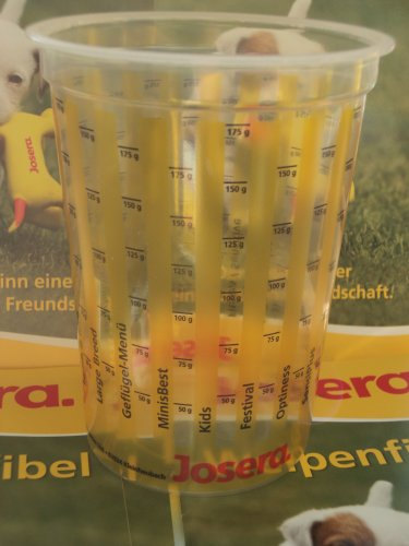 Josera 2 Meßbecher Hundefutter auch für die Exclusive Line