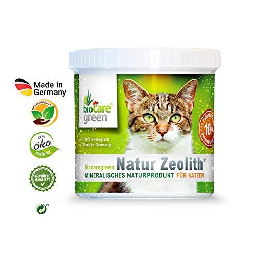 biocaregreen Natur Zeolith Nahrungsergänzung für Katzen, 30 g
