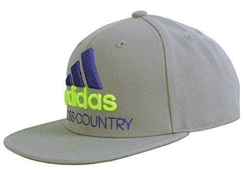 adidas Herren Flat Cap Cross Country Kappe (OSFM - 58cm - Herren)