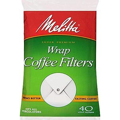 Melitta White Wrap Around Coffee Filter for Percolator
