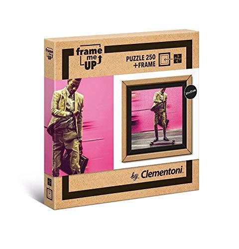 Clementoni- Puzzle con marco 250 pzas Living faster, Multicolor (38501) , color/modelo surtido
