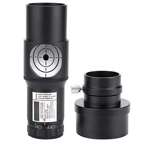 Topiky Collimatore oculare da 1,25 Pollici con calibratore di ASSE Ottico Adattatore da 2 Pollici per telescopio astronomico