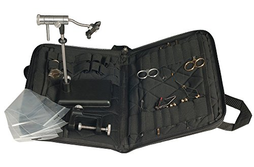 Zephr Travel Fly Tying Kit w/Travel Bag for Fly Tying or Tying Flies
