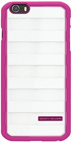 Body Glove Rise Case for iPhone 6 4.7-Inch - Retail Packaging - Raspberry/White