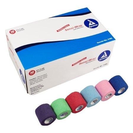 Dynarex Sensi-Wrap Compression Bandage - 3181CS - 1' x 5 yds, 30 Roll/Case