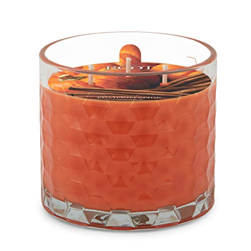 Root Candles Hive Scented Beeswax Blend 3-Wick Candle, 12-Ounce, Pumpkin Spice