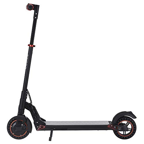 Scooter eléctrico para adultos Kugoo S1 Plus plegable E-scooter motor de 350 W con 25 km de largo alcance máximo 30 km/h de velocidad plegable mango barra con pantalla LCD de altura ajustable