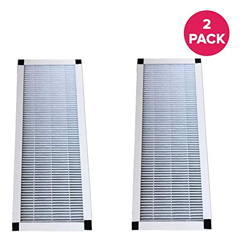 Think Crucial Replacement Air Purifier Filter Compatible with Idylis Part # 560885 & Models F,AC-38 HEPA Style (2 Pack)