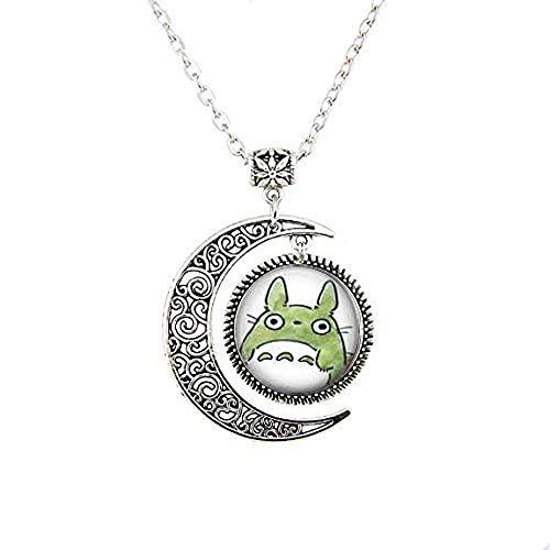 bab Collar con colgante de luna de My Neighbor Totoro
