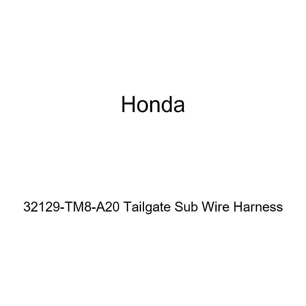 Genuine Honda 32129-TM8-A20 Tailgate Sub Wire Harness