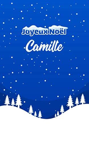 Joyeux Noël Camille: Carnet de notes   Cadeaux de Noël de...