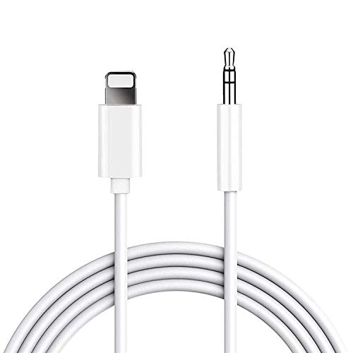 Car Aux Cable, Twinkk Aux Cord Compatible with iPhone X/7/8/Xs/Xr/iPad, 3.3ft 3.5mm Male Audio Cord for Car, Speaker, Home Stereo and Headphone