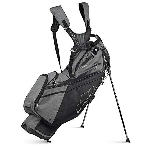 Sun Mountain 2021 Men#039s 45LS 14Way Golf Stand Bag BlackCarbon