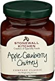 Stonewall Kitchen Apple Cranberry Chutney, 8.5-Ounces A must for the well-stocked pantry; Convenient and flavorful Full of sweet, ripe apples, tart cranberries and a wonderful array of flavorful herbs and spices Especially great with spicy meals, sea...