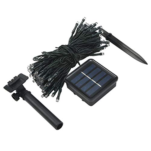 ABOOFAN 1Set Solar String Lights Out Door Decorative Lamps Christmas Colorful Lights Party Supply