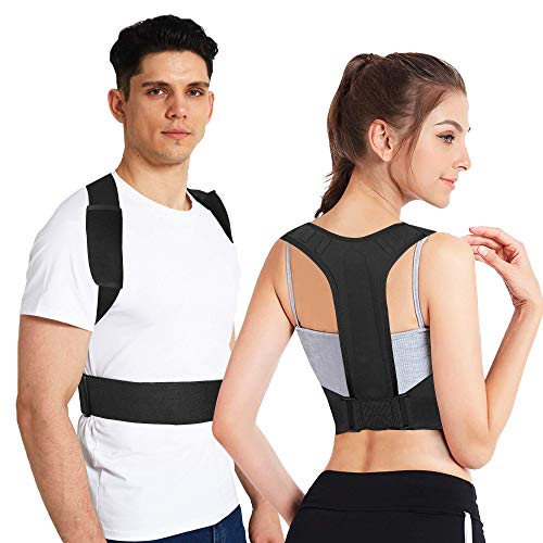 Posture Corrector for Men Women and Kids, Back Brace With Two Adjustable Wearing Methods, Comfortable-Breathable, Suitable For Reducing Neck, Shoulder and Waist Upper Back Pain Posture Trainer(M-XXL)