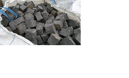 Grundpreis 299 EUR pro To. Granit Pflastersteine 8x11cm Kopfsteinpflaster Steinpflaster 1A QUALITÄT, SCHWARZ, GEBROCHEN, OHNE VERSAND! MINDESTBESTELLMENGE 10 TONNEN!