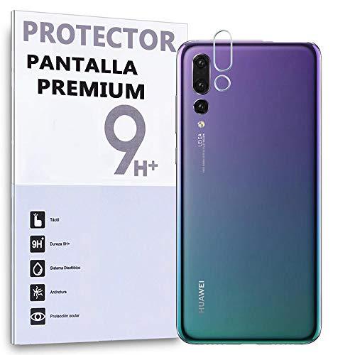 REY Protector de Pantalla para Cámara Trasera Huawei P20 Pro