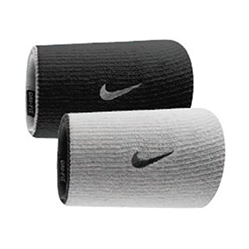 Nike Home & Away DW Wristbands(White/black, ofsm)