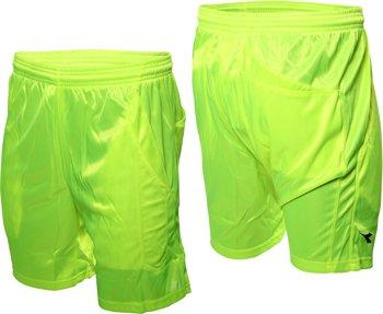 Diadora - Pantaloncini da arbitro italiano, taglia M, colore: Verde